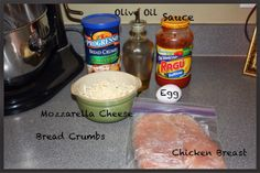 Homemade Chicken Parmesan Recipe