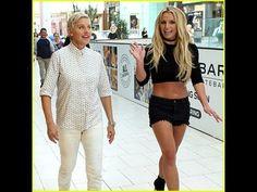Britney Spears & Ellen DeGeneres Wreak Havoc at the Mall - Watch Now!
