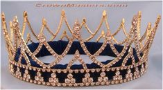 Women Girls Elegant Wedding Bride Crown Headwear Rhinestone Tiaras Cute Gift/_NE