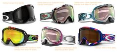 Ski and Snowboard Style Guide - Goggles #Oakley | http://www.dinosaurusrex.ca
