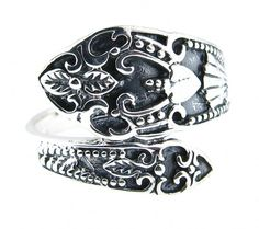 st silver spoon ring