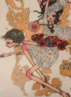 Pretty Art, Cute Art, Aya Takano, Indie Art, Dibujos Cute, Funky Art, Pics Art, Art Plastique, Aesthetic Art