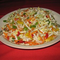 Try this Light n Hearty Wombok Salad recipe by Chef Allan.