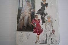 Burda Couture Bridal Gown Wedding Dress by VintagePatternsDepot
