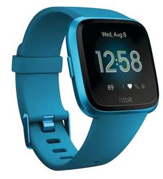 Fitbit Versa Lite Edition Smartwatch with Heart Rate Tracking - Marina Blue - Only at Best Buy Fitness Activity Tracker, Fitness Activities, Fitness Tracker, Smartwatch, Fitbit App, Fitbit Charge, Bluetooth, Marina Blue, Sport Watches