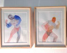 Makiko FURUICHI aquarelles / watercolors galerie 3e parallèle Salon Ddessin {15}