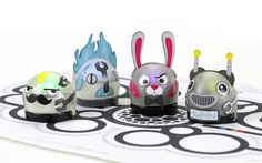 Ozobots - Programmable smart robots for playing and learning. $50 to $120.