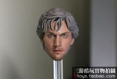 """49.00$  Buy now - http://alimzl.worldwells.pw/go.php?t=32658424852 - """"1/6 scale figure doll head shape for 12""""""""Action figure doll accessories Avengers: Age of Ultron Quicksilver head.not include body"""" 49.00$"""