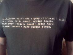 bash joke, Linux is sexy!