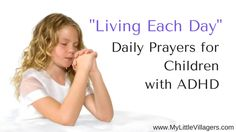 Daily Prayers for Children with ADHD