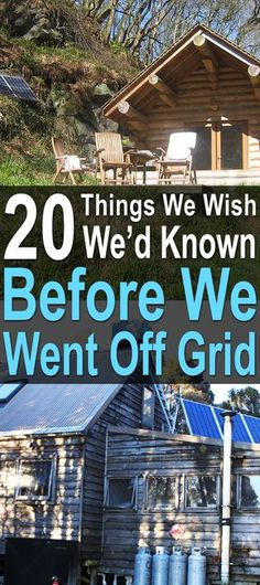 20 Things We Wish We'd Known Before We Went Off Grid Nick and Esther have been living off the grid while building their dream home. In that time, they've learned some valuable lessons about living off the grid. Survival Food, Homestead Survival, Survival Prepping, Survival Skills, Survival Hacks, Survival Knots, Survival Essentials, Emergency Preparation, Emergency Kits
