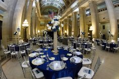 Corporate 25th anniversary party for Precision Environmental Co. at Cleveland City Hall.