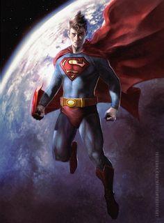 #Superman #Fan #Art. (Superman) By: Danielmchavez. (THE * 5 * STÅR * ÅWARD * OF: * AW YEAH, IT'S MAJOR ÅWESOMENESS!!!™)[THANK U 4 PINNING!!!<·><]<©>ÅÅÅ+(OB4E)