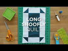 This Mini Tutorial demonstrates a fun and simple way to create an elongated Shoofly block in minutes. Watch the full tutorial and get supplies here: http://b...