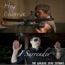The walking dead Daryl Dixon & Governor