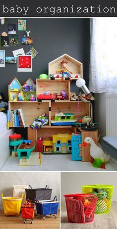 Great Tips for Organizing your baby Nursery or kids play room!