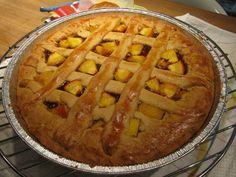 Peach tart! - homemade