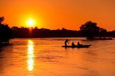African Impact Volunteer Program in Zambia | Sunsets over the Zambezi