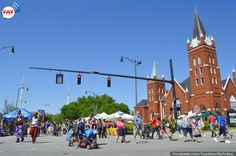 Saturday at the 2014 Fayetteville NC Dogwood Festival | FayTodayFayToday I went to kindergarten in that church. Mary T.