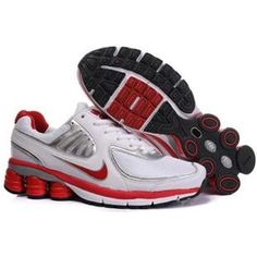 faeaab0b951bec Now Buy Women s Nike Shox Shoes White Red Silver Top Deals Save Up From  Outlet Store at Jordany.