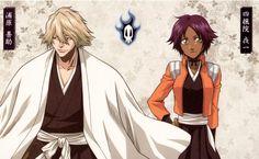 Bleach, Kisuke Urahara and Yoruichi Shihoin