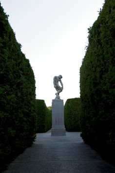 Formal gardens and unique sculptures make Allerton Park in Monticello, Illinois, a sight to see.