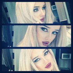 Ediva.gr » Όλα για την γυναίκα   Μόδα, Ομορφιά, Ζώδια, Συνταγές  7 Τρόποι να βγαίνετε καλύτερες φωτογραφίες. Platinum Blonde Hair, You're Beautiful, Blonde Beauty, Beauty Make Up, Makeup Addict, Makeup Brushes, Barbie, Long Hair Styles, Face