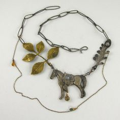 Elsa Mora necklace - would not lay on me correctly, but  it is beautiful