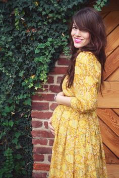 #yellow #floral #dress