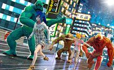 My Monster Run (Mi Mundo de Monstruos Anime) android game first look gam...