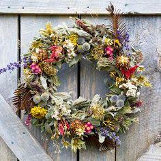 Springtime Floral Wreath