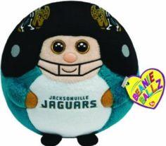 Jacksonville Jaguars beanie ballz