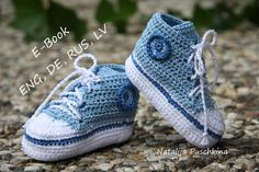 Free Baby Crochet Patterns   ... with 150 photos - Baby Boy Booties Crochet Pattern and Diagram Pattern