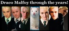 "Professor Snape on Twitter: ""Draco Malfoy through the years… """