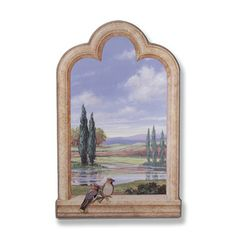 Shop for Birds/ Cypress Trees Window Scene. Get free shipping at Overstock.com - Your Online Home Decor Outlet Store! Get 5% in rewards with Club O!