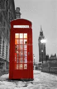 Famous London telephone booths. I love these.