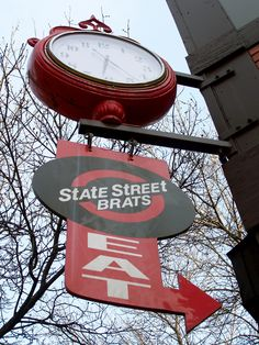 Have a brat at State Street Brats
