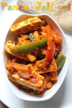 YUMMY TUMMY: Paneer Jalfrezi Recipe / Paneer & Baby Corn Jalfrezi Recipe