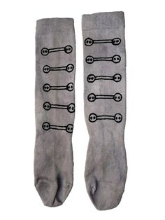 Military button style socks how could I pass these babies up