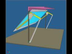 Simulación dinámica de un portón manual AB - YouTube