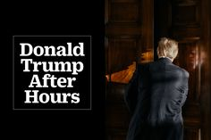 See how the President spends his time at the White House behind closed doors