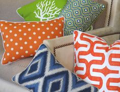 Signature Pillows - Bold Ikats, Leopard Prints, Medallions & More on Joss and Main