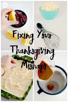 Thanksgiving troubleshooting