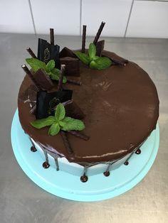 TORTEN LUST: {Rezept} After-Eight - Himbeer - Schokoladen - Dripcake