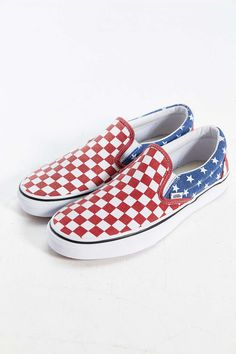 67a01339a7 Vans Van Doren Stars + Stripes Slip-On Sneaker Sneakers For Sale