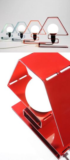 Aluminium table #lamp ICON X by ZAVA | #design Massimo Rosati @ZAVA