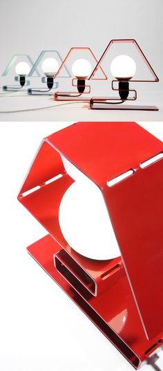 Aluminium table #lamp ICON X by ZAVA | #design Massimo Rosati @Zaferia Cambra Dowling