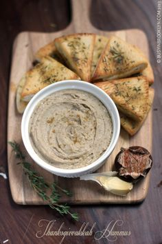 Busy in Brooklyn » Blog Archive » Chestnut Hummus with Thanksgiving Pita Chips