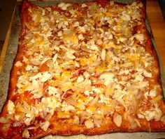 Debbi Does Dinner... Healthy & Low Calorie: BBQ Chicken Pizza