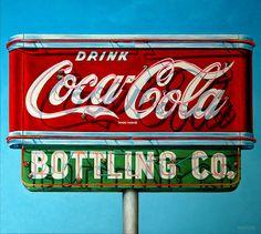 "Will Rafuse - DRINK COCA-COLA, 2013; 36"" x 40""  Oil on canvas"
